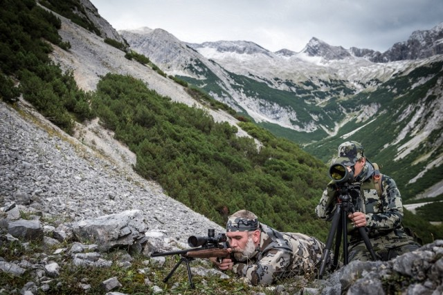 NeoPod on a chamois hunt in Austria