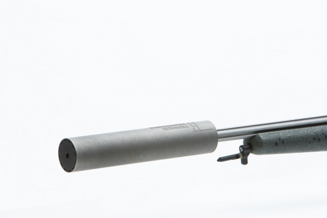 Sauer adapter for NeoPod bipod mounted on gun